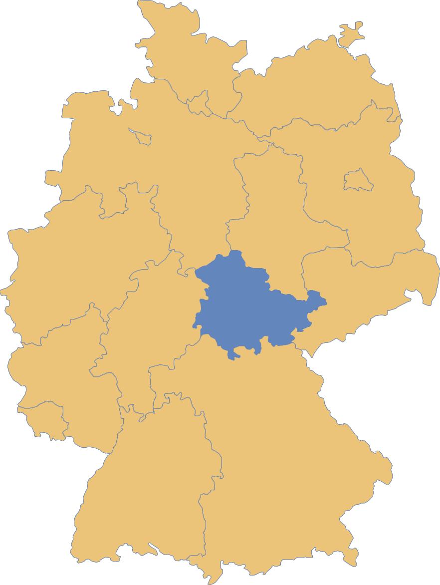 Sänger & Sängerinnen aus Thüringen